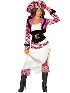 Sexy Precious Pirate Women's Costume