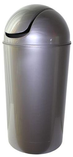 14 Gallon Swing-Top Plastic Trash Can