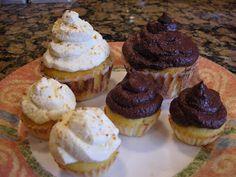 Coconut Flour Cupcakes (Gluten Free, Sugar Free)