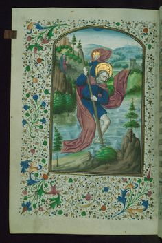 W.197, Book of Hours, Latin (1460 CE, Bruges)