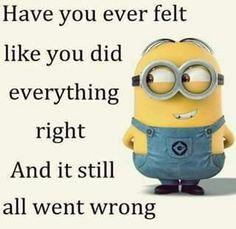 Har du nogensinde følt at du gjorde alting rigtigt og alligevel gik det galt