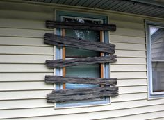 How to- Foam wood boards to board up windows