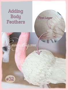 {Adding Body Flamingo Feathers}