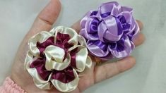 135) Tutorial Ribbon Flower