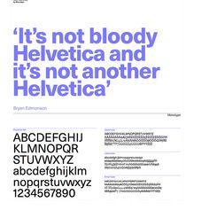 Neue Haas Unica / not helvetica