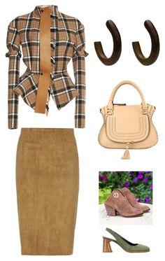 """гиб нат"" by natalinabloom on Polyvore featuring мода, Loewe, Chloé, STOULS и Premiata"