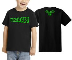 BRAAAP MX Toddler T Shirt Youth Child Motocross by JUSTRIDE928