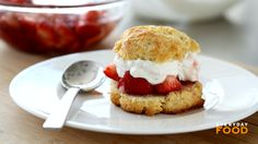 Strawberry Shortcake, Recipe from Everyday Food, May/June 2003
