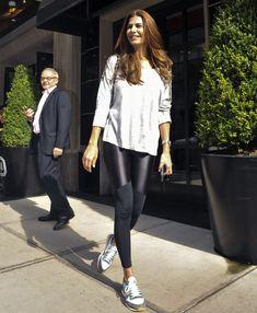 El streetstyle de Juliana Awada en Nueva York
