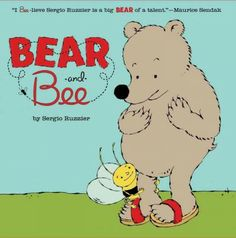A Book about SHARING... Check it out at the Orlando Public Library! Bear and Bee by Sergio Ruzzier  Summary: A hungry bear discovers that bees are not terrible monsters who never share their honey.