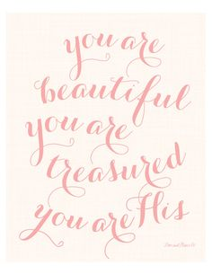 You Are His Print. Scripture. Bible Verse. by loveandgraceco