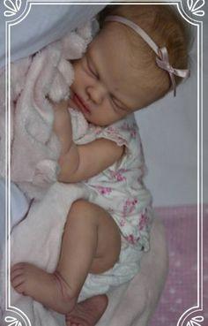 """RINATO BABY GIRL BAMBOLA SOPHIE FAKE neonati realistico dipinto a mano 22 /""""neonato"""