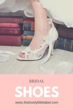 The Lovely Little Label Bridal Shoes Wedges, Wedge Wedding Shoes, Bridal Sandals, Umbrella Wedding, Wedding Umbrellas, Vintage Style Shoes, Beautiful Shoes, Wedding Accessories