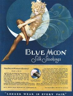 Blue Moon Hosiery ad, 1926 by Gatochy on Flickr. Description from pinterest.com. I searched for this on bing.com/images