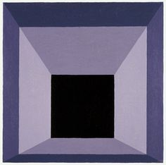 """Josef Albers, """"Homage to the Square"""", Oil on masonite, 1962"""