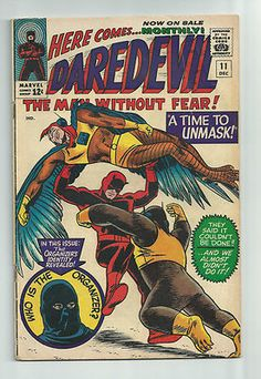 DAREDEVIL #11 Great early series Silver Age find! ~WOW~  http://r.ebay.com/AR9rLZ