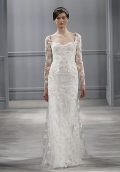 Leaticia by Monique Lhuillier,  love the sleeves on this dress!!