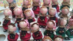 Tumima Dolls de Marisa Madejón. Asturianas y leonesas.