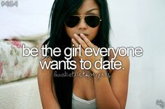Bucket list, before i die ♥ kinda but I don't think I'll take the spot light well
