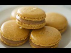 Salted Caramel Macarons | ByronTalbott via Youtube