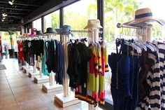 For gorgeous resort wear or designer swimwear, your first stop should be at one of the Swim Mart or Swim City stores.