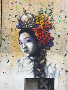 Delicate by Fin DAC, via Flickr #urban art #art #street art