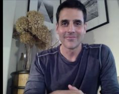 Another shot of BEN in his video chat Ben Bass, Rookie Blue, Bomber Jacket, Bomber Jackets