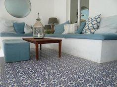 Portugese en Marokkaanse tegels in de tuin   Interieur inrichting