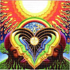 Blotter art - designs used for LSD