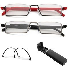 df61ace9512e 1PC Unisex Light Reading Glasses 1.0 To 4.0 Red Black TR90 Eyes Care Healthy-in  Reading Glasses from Women s Clothing   Accessories on Aliexpress.com ...