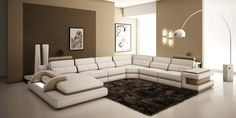 Modern Sectional sofas and Corner couches in Toronto, Mississauga, Ottawa and Markham by La Vie Furniture