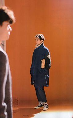 The Oversized coat by Calvin Klein Platinium #menswear #designer #edit #mode #fashion #style #clothing