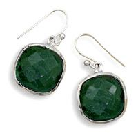 Wholesale silver jewelry and fashion jewelry for resale. Sterling silver chains, Bulk Discounts, Custom Jewelry, direct from Silver Stars. Emerald Earrings, Silver Earrings, Drop Earrings, Wholesale Silver Jewelry, Green Stone, Silver Stars, Rough Cut, Sterling Silver Chains, Custom Jewelry