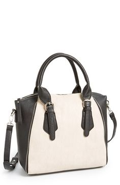 Cesca Two Tone Satchel Juniors Available At Nordstrom Purse Clutch