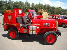 1954 Willys CJ3B Firefighter - Photo submitted by German Alberto Gomez Sanchez.