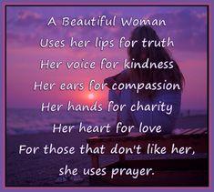 A Beautiful Woman...