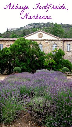 Visiting the Abbaye de Fontfroide near #Narbonne, in the #Aude region in #France