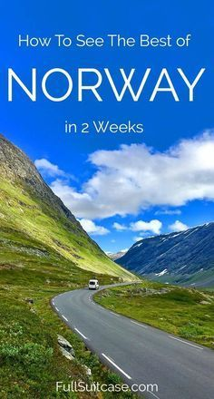 See the best of Norway with this road trip itinerary along the most beautiful fjords and the Atlantic coast. Travel in Europe. Europe Travel Tips, European Travel, Travel Destinations, Europe Europe, Backpacking Europe, Travelling Tips, Travel Plan, Travel Info, Travel Deals