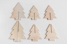 Mini Balsa Wood Christmas Tree Tutorial