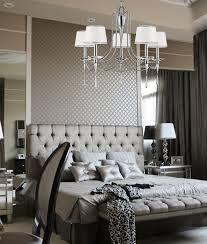 The scene of the crime: Delilah's silver bedroom