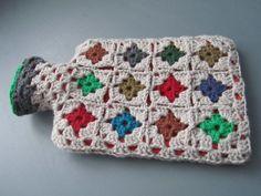 Crochet, hot water bottle ! Hmmmm.....never cold feet again!
