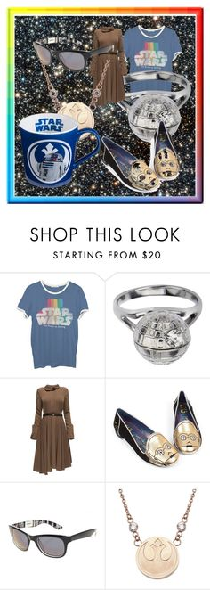 """Star Wars"" by iamaderp on Polyvore featuring Junk Food Clothing, Lattori, Irregular Choice and starwars"