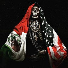 You are watching the movie Sicario: Day of the Soldado on Putlocker HD. Agent Matt Graver teams up with operative Alejandro Gillick to prevent Mexican drug cartels from smuggling terrorists across the United States border. Arte Cholo, Cholo Art, Chicano Art, Mexican Flag Tattoos, Arte Latina, Day Of The Dead Artwork, Mexican Artwork, Aztec Tattoo Designs, Mexican American