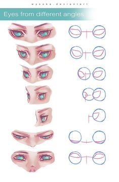 61 Ideas For Eye Drawing Tutorial Sketches Design Reference Digital Painting Tutorials, Digital Art Tutorial, Art Tutorials, Eye Drawing Tutorials, Body Drawing Tutorial, Concept Art Tutorial, Art Reference Poses, Design Reference, Drawing Reference