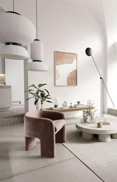 Interior Minimalista, Interior Design Living Room, Living Room Designs, Living Room Decor, Small Room Interior, Minimalist Interior, Modern Interior Design, Modern Decor, Modern Minimalist Living Room