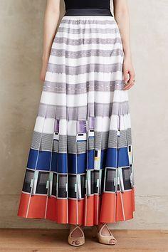 Sundra Maxi Skirt #anthropologie