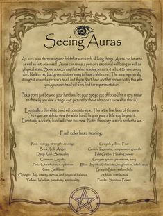 Seeing Auras for homemade Halloween Spell Book. Seeing Auras for homemade Halloween Spell Book. Seeing Auras for homemade Halloween Spell Book. Seeing Auras for homemade Halloween Spell Book. Wiccan Spell Book, Wiccan Witch, Magick Spells, Witch Spell, Spell Books, Summoning Spells, Healing Spells, Halloween Spell Book, Halloween Spells