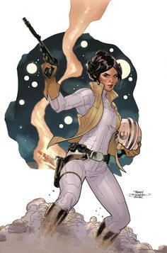 Cover Art for Marvel's Star Wars: Leia Comic