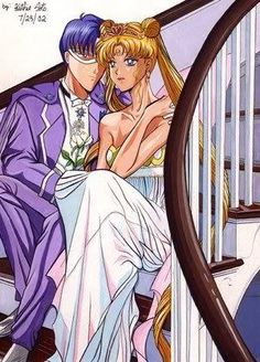 Sailor Moon King Endymion and Neo-Queen Serenity