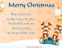 Funny Merry Christmas card messages Hy friends today I am shared Funny Merry Christmas card messages. You will be able to share it with your friends as well this Funny Merry Christmas card me… Christmas Card Messages Funny, Merry Christmas Message, Merry Christmas Funny, Christmas Humor, Day